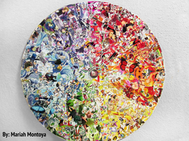 Identity Project - Color Wheel Collage by yuuyami-artist
