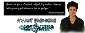 Code Lyoko Evolution William Mensaje para fans by XMarcoXfansubs
