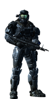 Halo Reach: me as a spartan by Deaththewolf32