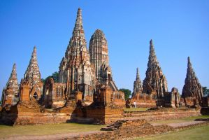 Ayutthaya the Ancient Kingdom by erinlee