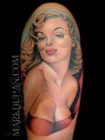PIN UP TATTOO by amduhan