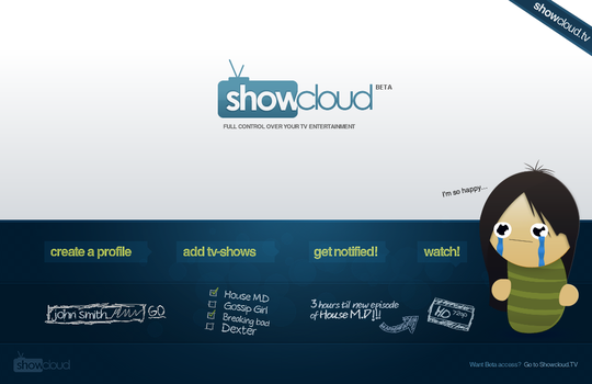 Showcloud.TV - AD and LOGO HD by JonasIngebretsen