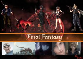 final fantasy by sssnakeee