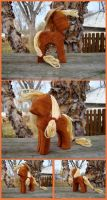 Applejack Woodwork IV by xofox