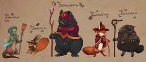 Witches of the Woodland [Closed] by Herboreal