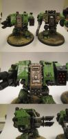 Sons of Medusa Dreadnought by aaronprovost