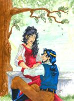 070410 Jon and Thayet by GillyPerkyGoth