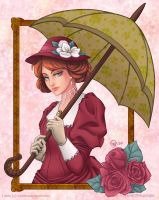 Victorian Lady by ChildOfMoonlight
