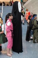 Sen and No Face in Spirited Away at AX 2013 by trivto