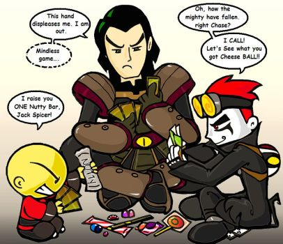 The Most Intense Showdown EVER by Jack-Spicer666