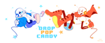 [UNDERTALE] Drop Pop Candy Parody-Sans and Papyrus by Nigiri-chan