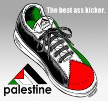 Palestinian tennis shoes by Latuff2