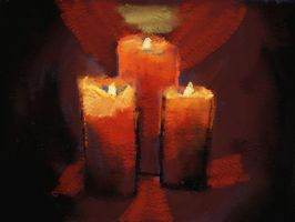 Candlelight... by eric56379