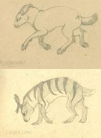 Hyksis Sketch Sheets by WhiskerWing