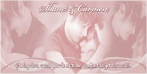 Shane and Carmen- Be With Me by MsNJS