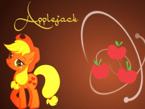 BG My Little Pony FIM Applejack by Moonofthedarknight