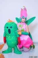 me as lilimon :D and togemon!!! by MiSA-MiiSA