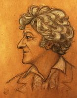 Jon Pertwee as Third Doctor by Felis-Irbis