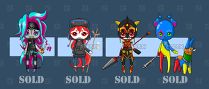 ADOPTABLE batch # 1 (CLOSED!) by emocx