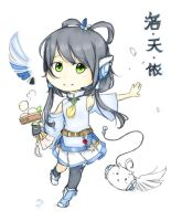 Luo Tianyi Chibi~ by Dreaming-Mushroom