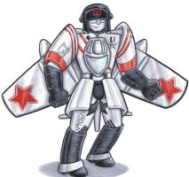 mig 15 transformer by prisonsuit-rabbitman
