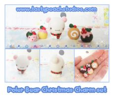 Christmas Polar Bear Set by MoogleGurl