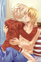 APH - USCan Kisses by Hetalia-Canada-DJ