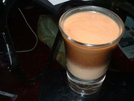 drambuie floater shot by stupidstock