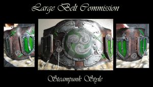 Commission : Large Belt by Deakath