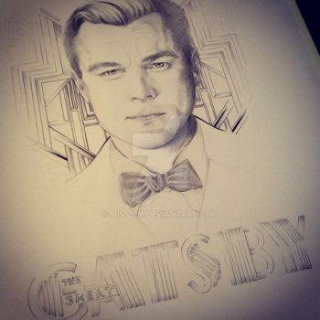 The Great Gatsby - DiCaprio - by Myriam El Jerari by Miss-JM