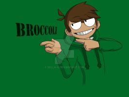 Eddsworld: Broccoli by Sella-A