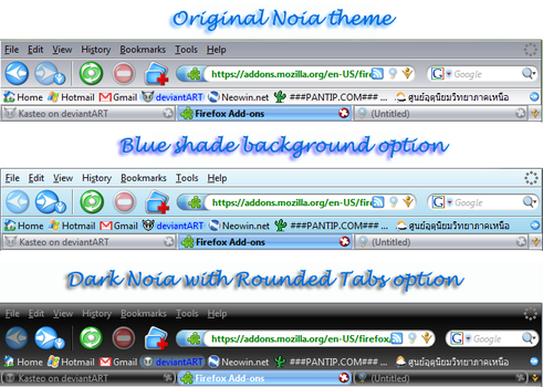 Noia 2.0 eXtreme For Firefox by Kasteo