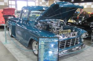 55 Chevy 1/2 ton custom deluxe by zypherion
