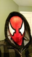 Scarlet Spiderman Mask by Theo-Kyp-Serenno