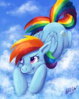 Rainbow Dash by Distraction-Number-4