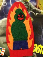 Felt Badge- Baggy Sweater Man by Cavity-Sam