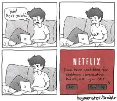 Netflix Party by theblamelessflame