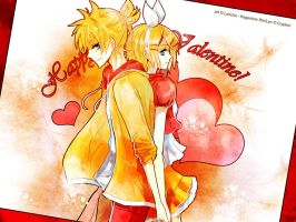 Vocaloid: Happy Valentine by Lancha