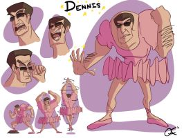 Dennis Character Sheet by TheOAFWorks