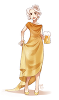 beer fullbody by meago