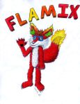 Flamix the Fox 2.0 by tails4evr