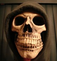 Grim Reaper Hooded Skull by FantasyStock