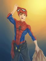Spidey Back by nursury0