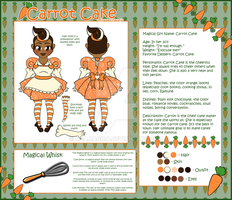 Bakery Magical Girls- Carrot Cake by mea0113
