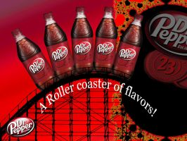 A ROLLER COASTER OF FLAVORS by SCT-GRAPHICS