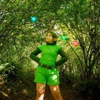 Saria in the Lost Woods by DrisanaRM