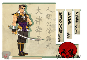 Self-proclaimed defender of mankind, Otomo Shunpei by Prince-Syo