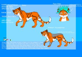 Xenophileous Ref Sheet by Royal-Dragon