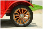 A Wooden Wheel On A REO Firetruck by TheMan268