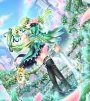 Wind Sneaker and Grand Archer by kirari-world